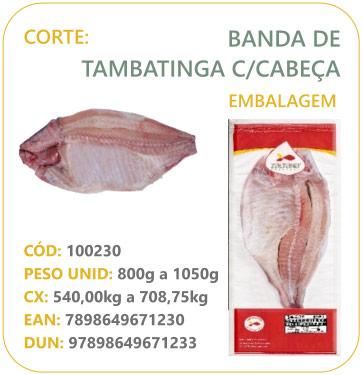 Corte: Isca de Tambaqui