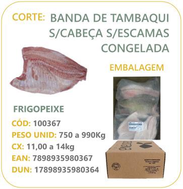 Corte: Posta de Tambaqui (ferradura)