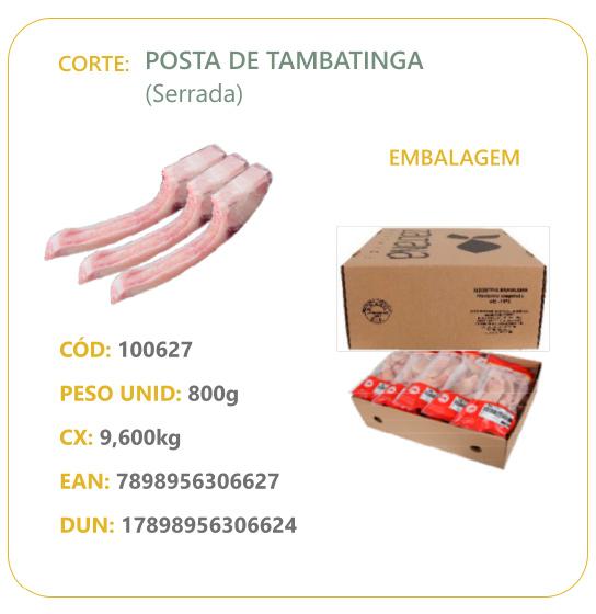 Corte: Posta de Tambatinga (Serrada)