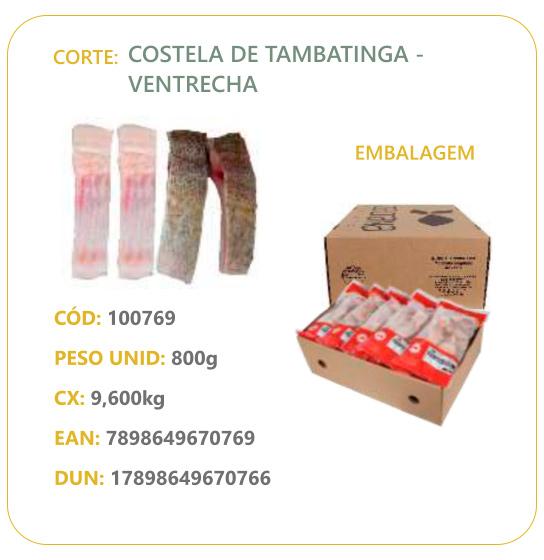 Corte: Costela de Tambatinga - Ventrecha