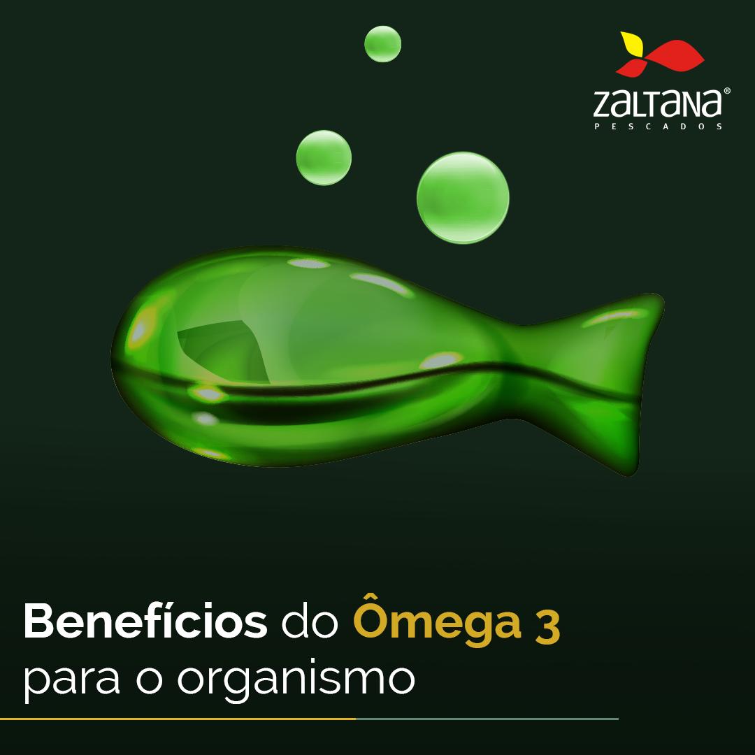 Benefícios do Ômega 3 para o organismo